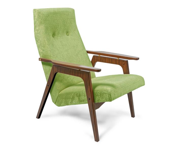 Авторская мебель, кресло в стиле модерн с деревянными ручками, кресло в стиле конструктивизм, кресло в стиле советский авангард