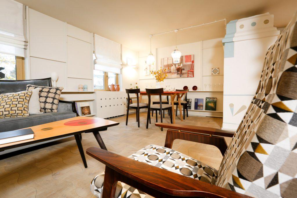 Совместный проект мебельного ателье Спутник для телепередачи Фазенда, кресло Каллисто в передаче Фазенда, столик Суприм в передаче Фазенда
