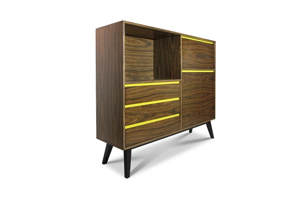 Шкаф Метеор - Мебель Спутник, Sputnikfurniture, мебель модерн, мебель спутник, мебель Sputnikfurniture, Mid Century Modern