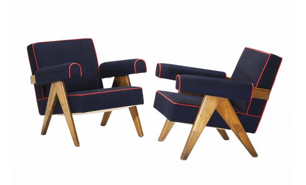 Кресло PJ-01 Pierre Jeanneret